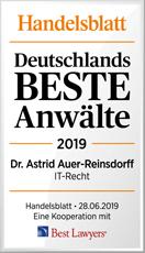 Handelsblatt Dr. Auer-Reinsdorff